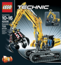 LEGO(MD) Technic - La pelleteuse (42006)