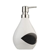 Loft Soap Pump with Nested Scrubby White