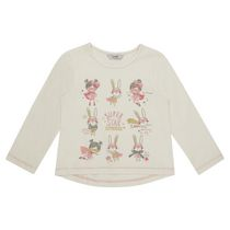 George British Design Toddler Girls' Long Sleeved Bunny T Shirt 2T