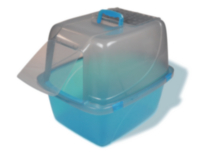 Van Ness Extra Giant Enclosed Translucent Cat Pan
