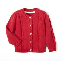 George baby Girl's Cable Knit Cardigan 12-18 months