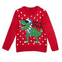 George Boys' Novelty Christmas Sweater L/G