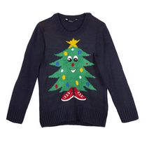 George Boys' Novelty Christmas Sweater XL/TG