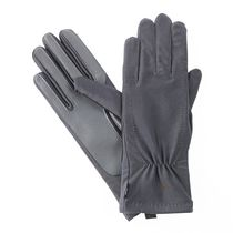 ISOfit by isotoner® Women's Stretch Gloves Charcoal
