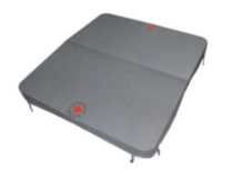 "Canadian Spa Co. 5""/3"" Grey Rectangle Spa Cover 80inx75in"