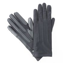 ISOfit by isotoner® Women's smarTouch® Stretch Gloves Charcoal