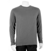 George Men's Crewneck Long Sleeved T-Shirt Grey M/M