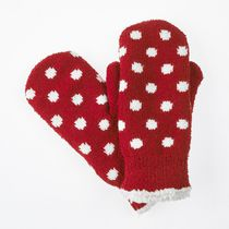 ISOfit by isotoner® Women's Knit Mittens Really Red