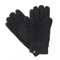 ISOfit by isotoner® Women's Chenille Gloves Black