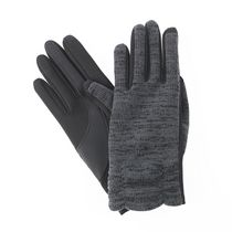ISOfit by isotoner® Women's smarTouch® Knit Gloves Black