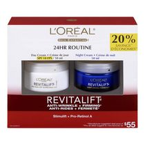 L'Oréal Paris Revitalift 24 Hr Routine SPF 18 Day/Night Cream