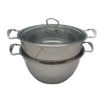 Sunwealth 26 cm Stainless Steel Multi-use Pot