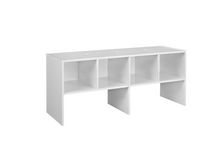 Closet Shelf Organizer - White