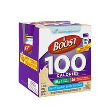 BOOST® 100 Calories French Vanilla Formulated Liquid Diet Drink