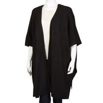 George Women's Knit Cardigan Cape Black S/P