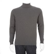 George Men's Long Sleeved Turtleneck Grey 2XL/2TG