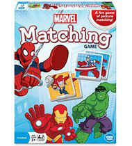 Marvel Spiderman Matching Game