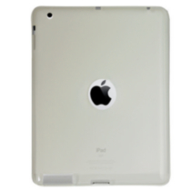 iPad 3/2 clear gel skin