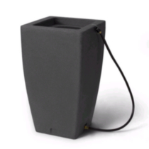 Madison Charcoalstone Rain Barrel