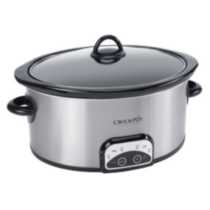 Crock-Pot 4 Qt. Oval Programmable Slow Cooker SCCPVP400S-033