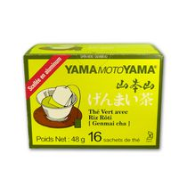 Yamamotoyama Genmai-Cha Green Tea with Roasted Brown Rice 16 Bags