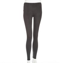 g21 Women's Suede Texture Leggings Grey XL/TG