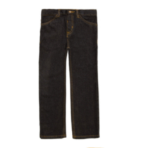 Boy's George Straight Leg Denim Jeans Navy 6X