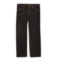 Boy's George Straight Leg Denim Jeans Black 7
