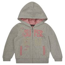 George British Desing Toddler Girls' Superstar Zip Through Hoody 2T
