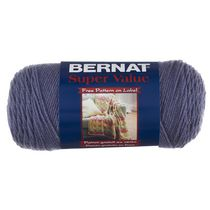 Bernat Super Value Bleu Bruyere