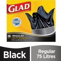 Glad® Easy-Tie® Regular Garbage Bags