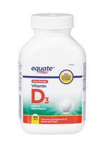Equate Extra Strength Vitamin D3, 1,000 IU Natural Source