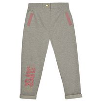 George British Design Toddler Girls' Ribbed Waist Slogan Sweat Pant 2T