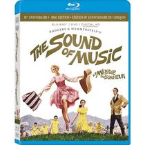 The Sound Of Music (50th Anniversary 5-Disc Edition) (Blu-ray + DVD + Digital HD + Soundtrack CD) (Bilingual)