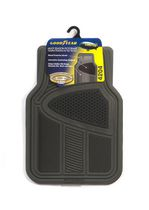 Premium Goodyear Rubber Multi Season Mat Set - Black Grey
