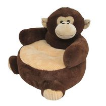 Friend's Boutique Plush Chair - Monkey