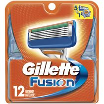 Gillette Fusion Replacement Razor Blades Value Pack