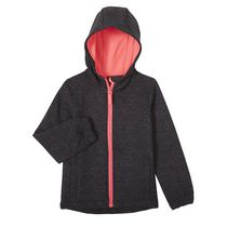 Athletic Works Girls' Bonded Jacket L/G