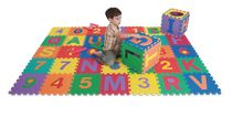Edushape Letter and Numbers Interlocking Foam Floor Tiles