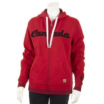 Canadiana Women's Fleece Hoodie L/G