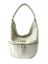 Jordache Zippered Hobo Hand Bag Bare Bones