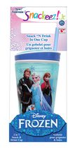 Snackeez! Jr. Disney Frozen 2 in 1 Snack & Drink Cup - Blue