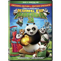 Kung Fu Panda 3 (Awesome Edition) (DVD + Digital HD) (Bilingual)
