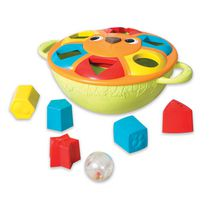Summer Infant Kiddopotamus King of the Shape Sorters™ Toy