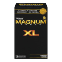 TROJAN® MAGNUM® XL - 12 Latex Condoms