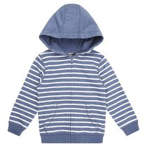 George British Design Toddler Boys' Striped Basic Hoody 4T