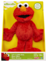 PLAYSKOOL SESAME STREET Let's Cuddle Mini Plush Figure Assortment - ELMO