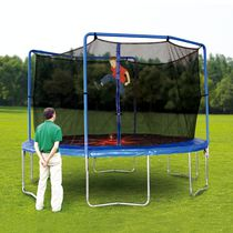 Trainor Sports 13' Trampoline and Enclosure Combo with Flash Zone