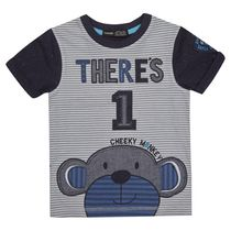 George British Design Toddler Boys' There's 1 Cheeky Monkey T Shirt 2T