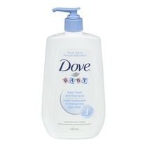 Dove® Baby Fresh Scent & Tear Free Wash & Shampoo 440ml